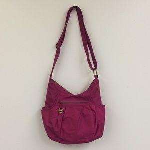 Travelon Bags - Travelon Fuschia Large Hobo Purse
